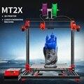 MULTOO 3D Drucker MT2X Große Druck Größe Hohe Qualität Präzision Ball schraube Preciser Einzigen Dual 3D Drucker 500*500*500