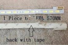 1 шт светодиодные панели подсветки для 46screen LTA460HN05 LJ64-03495A санки 2012SGS46 7030L 64 светодиодов 57см