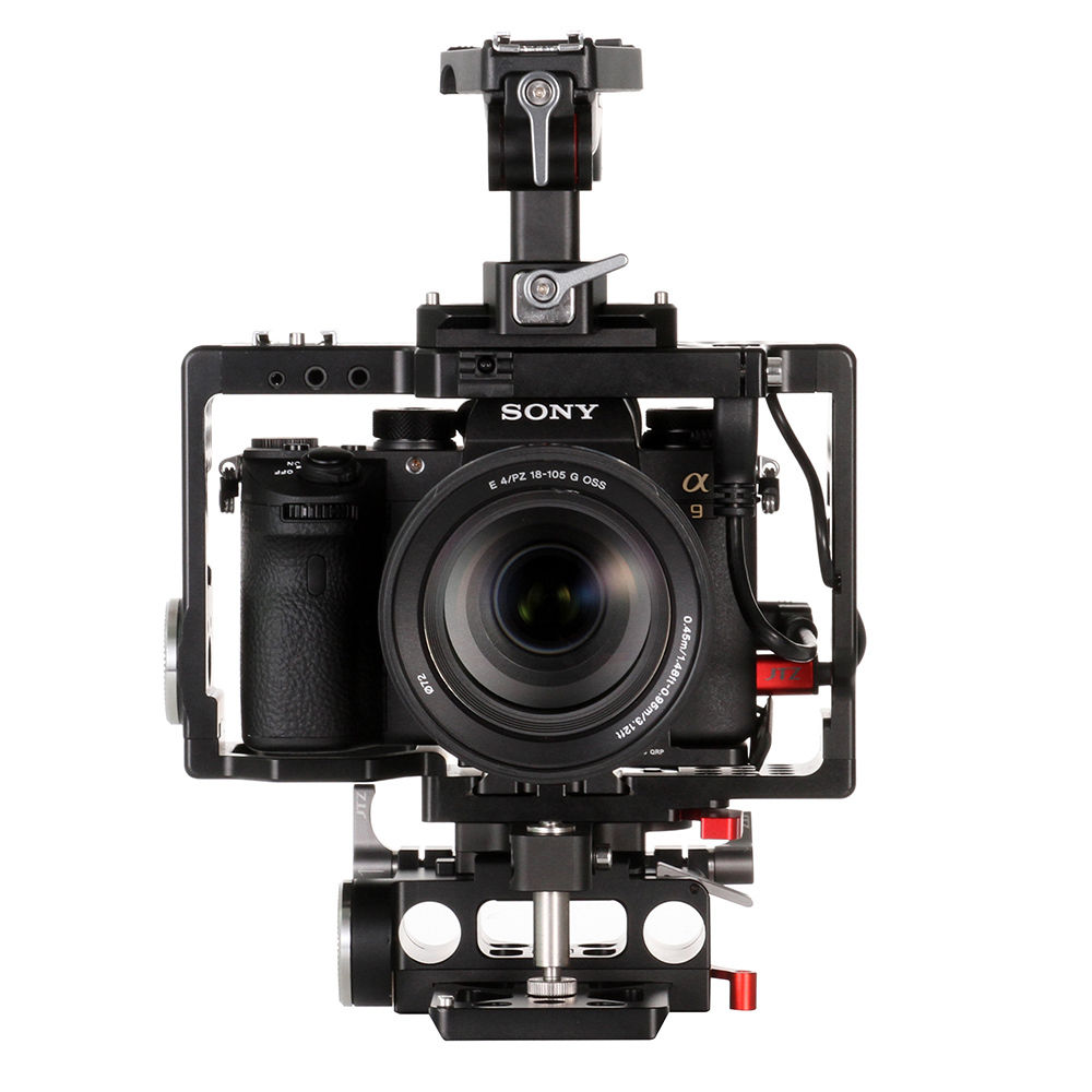 JTZ DP30 Camera Video Cage Baseplate Handle Rig For SONY A9 A7III A7RIII  A7SIII