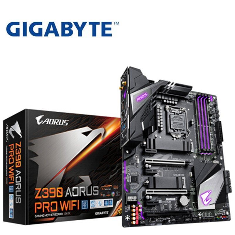 For Gigabyte Z390 AORUS PRO WIFI DDR4 E-sports Game Computer Motherboard Overclocking