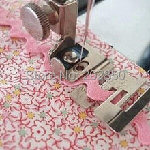 Бытовая швейная машина эластичная лента прижимная лапка, край ШВЕЙНАЯ Лапка,#29306, подходит для машин Singer, Janome, Brother, Feiyue