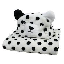 Newborn Baby Bath Towel Soft Flannel Cartoon Infant Bath Bathrobe Cute Animal Hooded Sleep Blanket lm73