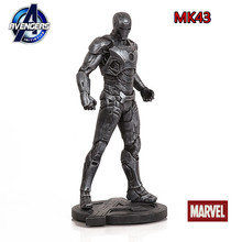 Free Shipping  Avenger Alliance 2 Iron Man 1/5 MK7 MK43 31cm Iron Man MK43 Tony Stark Resin Statue