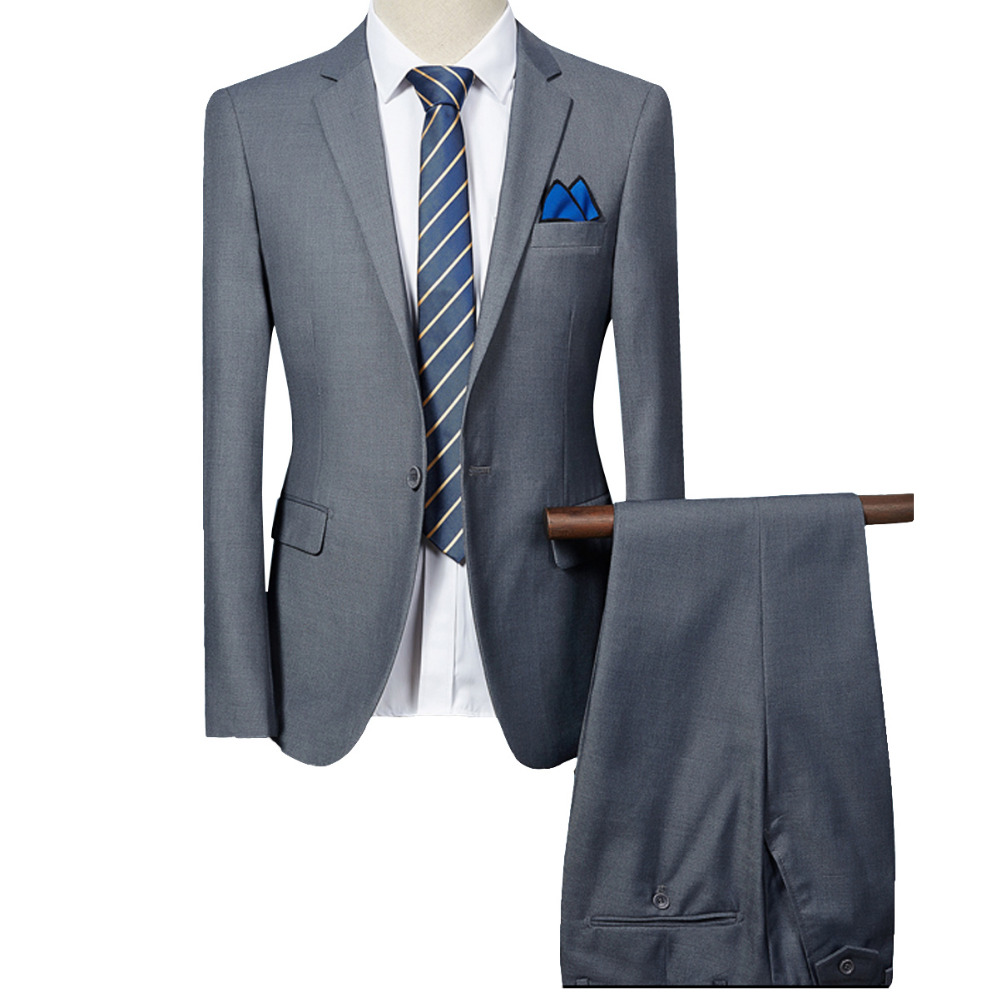 Aliexpress.com : Buy Cloudstyle 2017 New Men's Suit Formal 6 ...