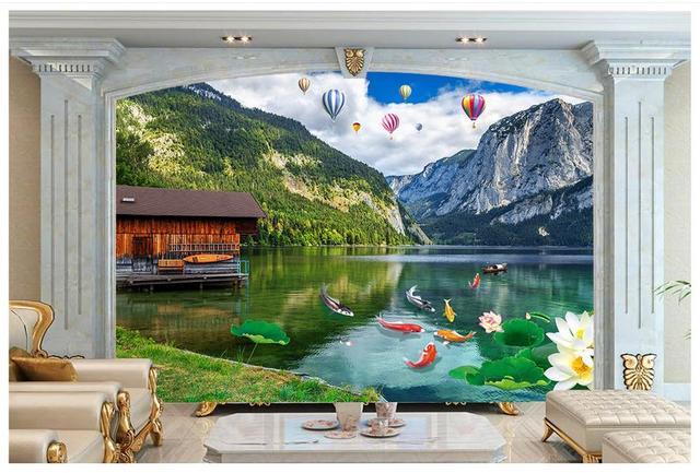 Personnalisé Haut De Gamme Murale 3d Peintures Murales De Papier