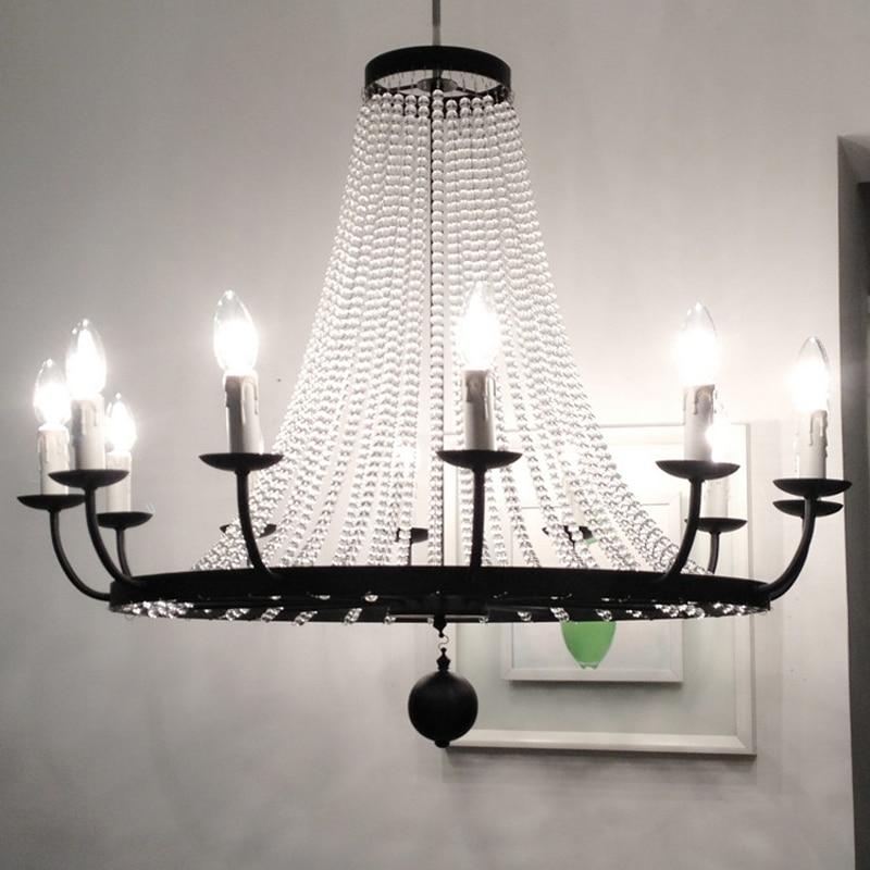 ộ_ộ ༽kitchen Europe Style Black Iron Candle Light