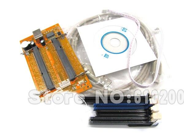 Free Shipping II Memory SPD/EP Programmer Support Laptop&Desktop /DDR/DDR2/DDR3 USB programmer