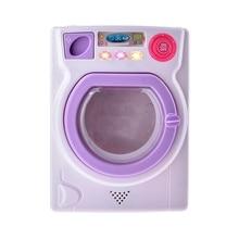 New Fashion Children Educational Toys Hold Water Large Sized Simulation Washing Machine Home Appliance Toy цена 2017