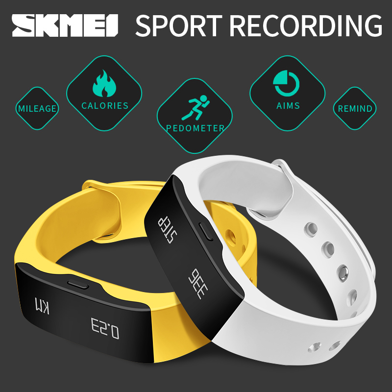 Smart Wristband SKMEI L28T OLED Display Waterproof Fitness Sleep Tracker Alarm Support Bluetooth 4 0 Android