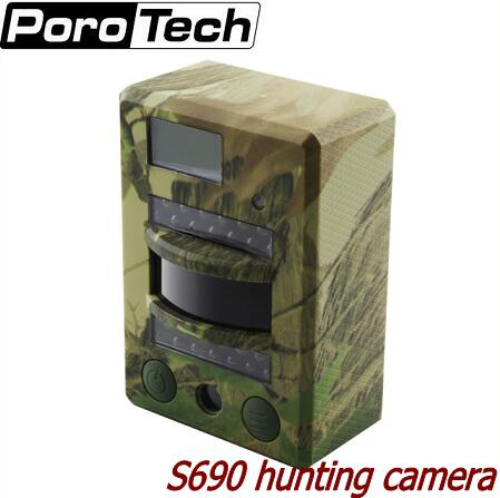 S690 Scouting Trail Camera 8MP Photo 720P Video 30FPS Infrared Digital Hunting Camera IP54 Waterproof genuine fuji mini 8 camera fujifilm fuji instax mini 8 instant film photo camera 5 colors fujifilm mini films 3 inch photo paper