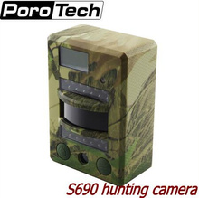 S690 Scouting Trail Camera 8MP Photo 720P Video 30FPS Infrared Digital Hunting Camera IP54 Waterproof