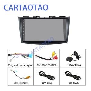 "Image 5 - 9"" Android 8.1 GO Car DVD Player for Suzuki Swift 2011 2012 2013 2014 2015 Car Radio GPS Navigation WiFi Player 2din"