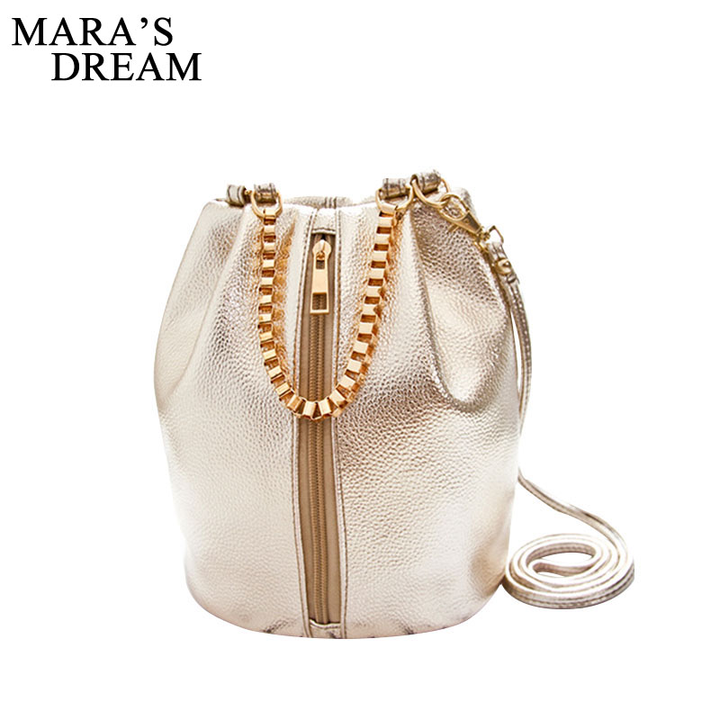 Mara's Dream New Lady Women Bag PU Leather Handbag Shoulder Bucket Bags Tote Purse Satchel Women Messenger Hobo Crossbody Bags mara s dream 2017 womens leather shoulder bag satchel solid color zipper tassel handbag tote crossbody bags coin shell bag
