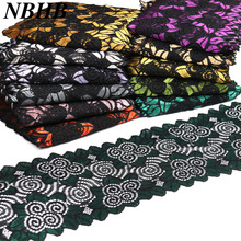 Factory direct-selling rushed New arrival lace fabric 10 yards/lot width 18 cm time-limited great quality A high grade product
