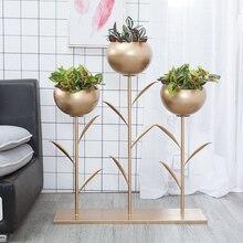 Полка для цветочного горшка в скандинавском стиле, подставка для растений, подставка для суккулентов, Цветочная ваза, украшение дома