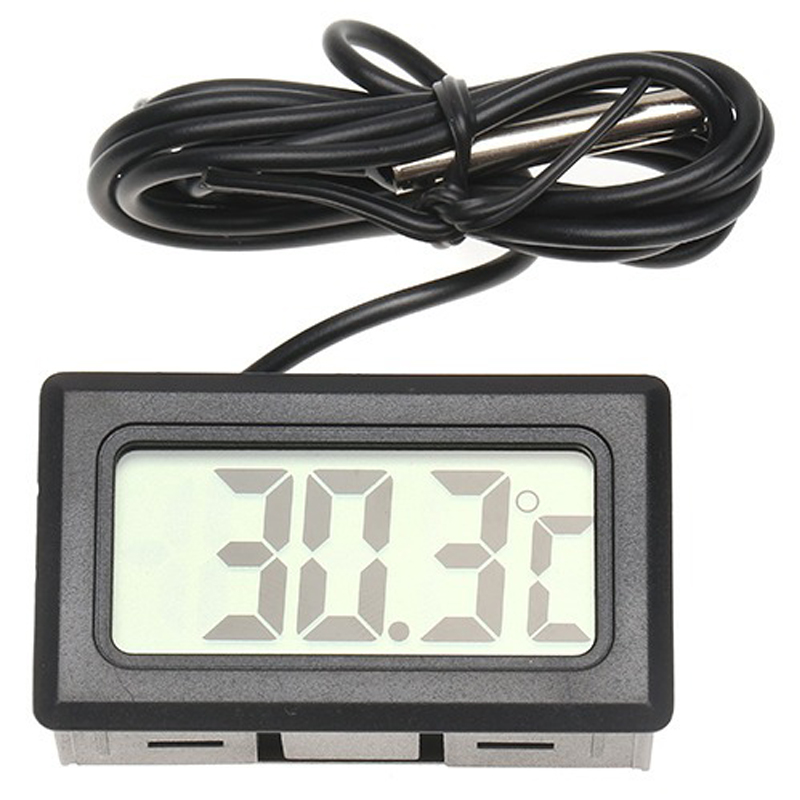 BYGD Digital LCD Display Indoor Temperature Meter Diagnostic Tools Thermometer Temperature Sensor