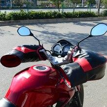 Motor da motocicleta Guiador Muffs Snowmobile Luvas Guiador Muffs Mão Inverno Quente Tampas À Prova D' Água