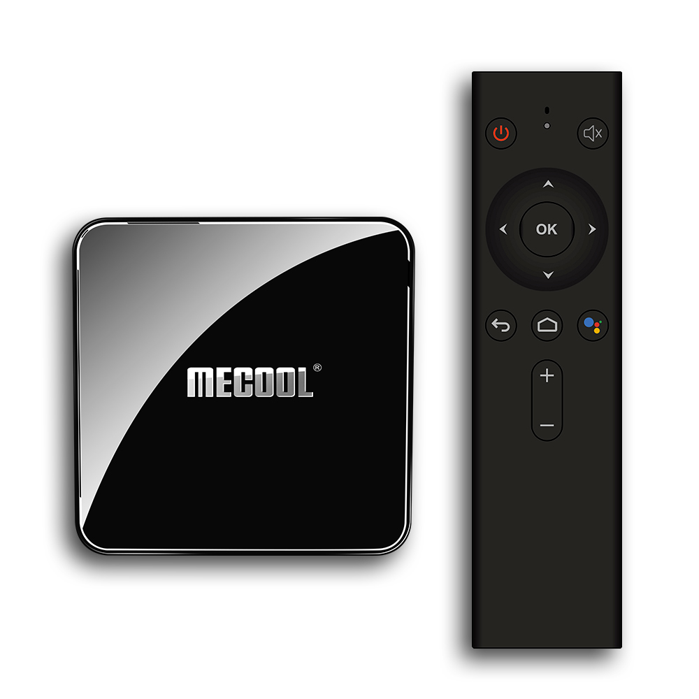 Mecool KM3 ATV Android 9.0 TV Box Google certifié S905X2 4GB LPDDR4 64GB Android 9.0 5G WIFI BT4.0 commande vocale TV Box ensemble