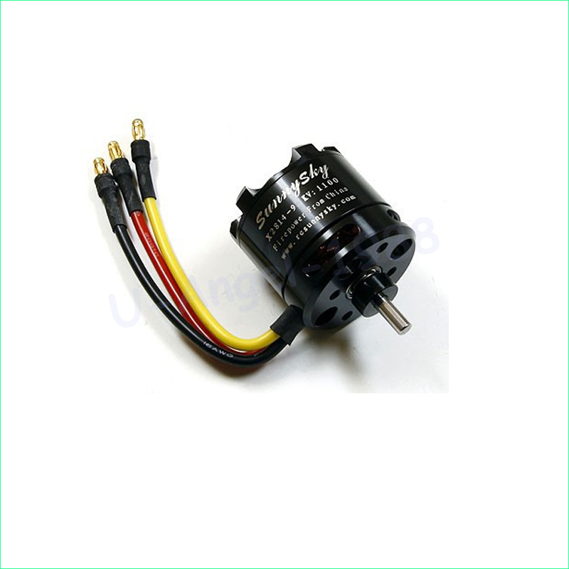 1pcs SunnySky X2814 900KV 1000KV 1100KV 1250KV 1450KV Outrunner External Rotor Brushless Motor for RC Aircraft