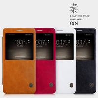 Nillkin Brand Leather Case For Huawei Mate 9 Original Sparkle PU Leather Flip Cover For Huawei