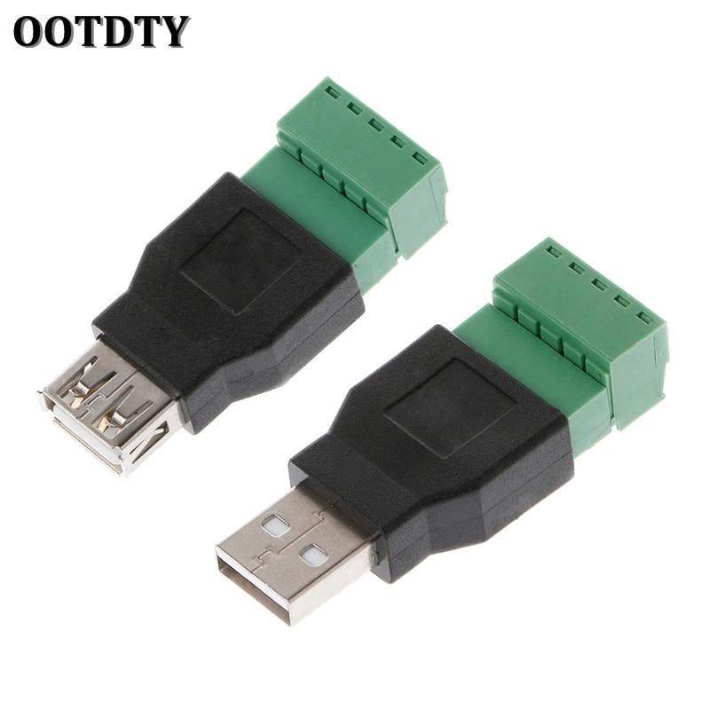 ootdty-1pcs-usb-female-to-screw-connector-usb-plug-with-shield-connector-usb20-female-jack-usb-female-to-screw-terminal