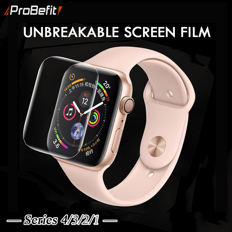 Screen-Protector Protective-Film Clear Not-Tempered-Glass Apple Watch 40MM 1-38mm