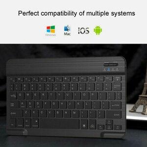 Image 5 - Bàn Phím Bluetooth Mini MT07 Slim Mini Di Động Không Dây Bàn Phím Dành Cho IOS Android Windows MÁY TÍNH Bàn Phím Bluetooth có Đèn Nền