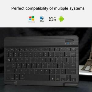 Image 5 - Mini Bluetooth Keyboard MT07 Slim Portable Mini Wireless Keyboard For IOS Android Windows PC Bluetooth Keyboard with Backlight