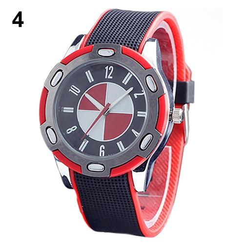 Casual Luxury Rubber Men Women Stylish Wrist Quartz Watch Nice Sports Wristwatch More Colors New Design 5DE1 6YM7 smt 89