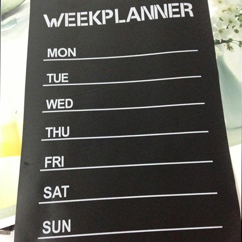 Month Planner Blackboard Wall Stickers Chalkboard Wall