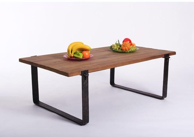 Loft retro estilo escandinavo mesa auxiliar mesa auxiliar mesa ...