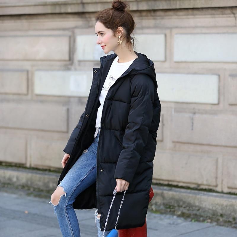 New Thickening 2018 kvinder Parka vinterjakke frakke plus størrelse - Dametøj - Foto 4