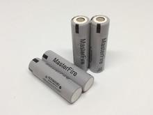 MasterFire 8PCS/LOT 100% Original 18650 battery high drain NCR18650BD 3.7V 3200mAh batteries 10A discharge for Panasonic,E-Cigs