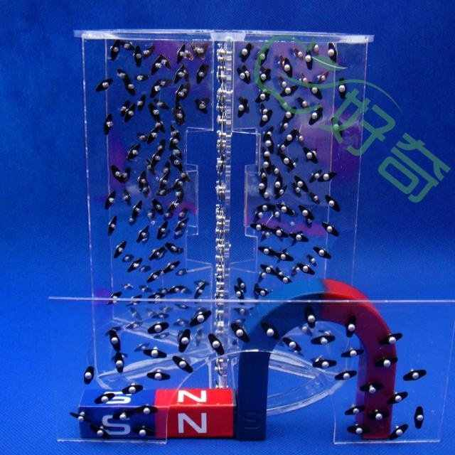 magnetic field demonstrator 3D  physic  lab instruments  laboratory equipment electrical experiment tools