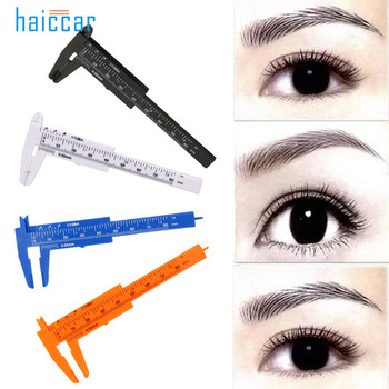 HAICAR 1PC Practical Pro Microblading Reusable Makeup Measure Eyebrow Guide Ruler Permanent Tools Tattoo Stencils