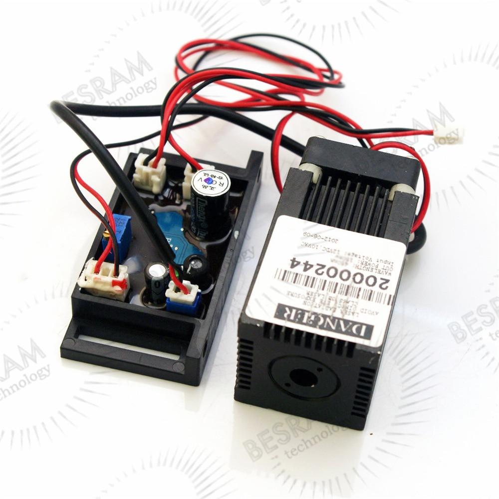 515nm 30mW Green Laser Diode Module 33x33x60mm 12V TTL 0-100khz Fan Cooling Osram LD 635nm 30 mw orange red 5 6mm ld laser diode n type pin