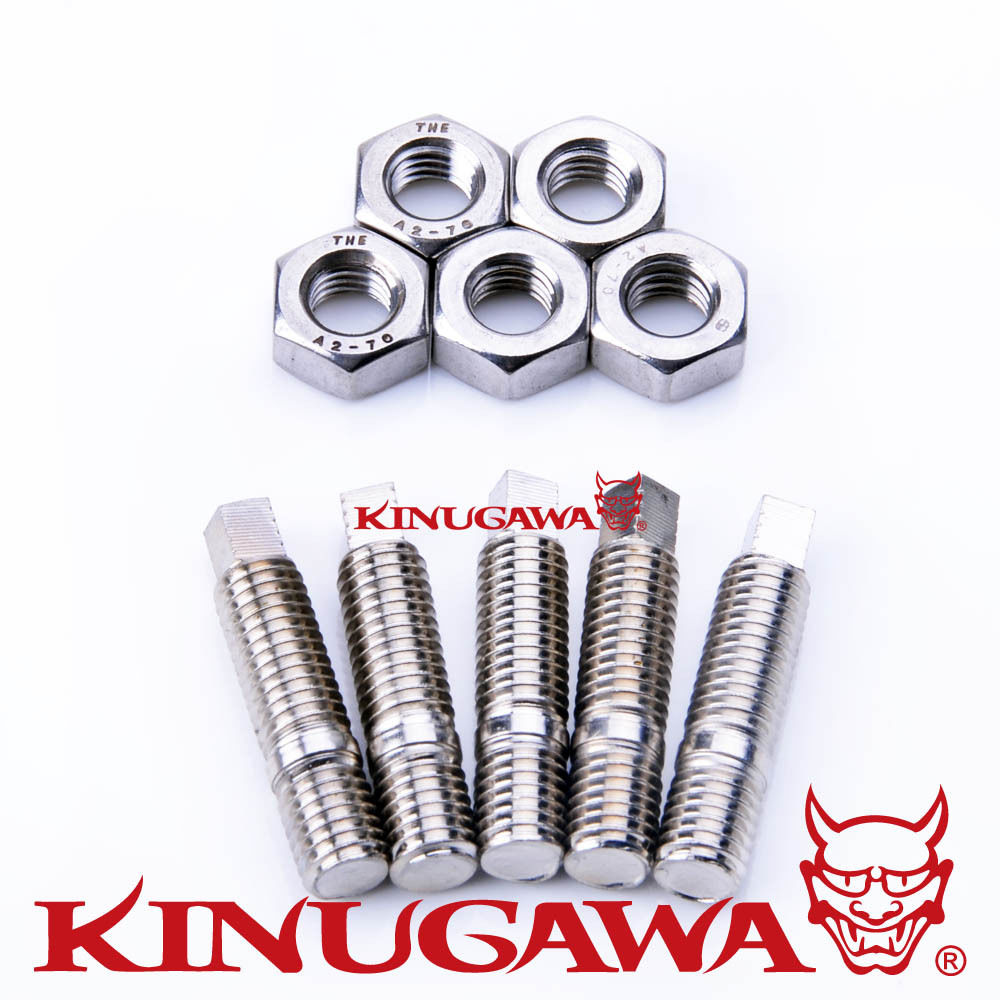 Kinugawa <font><b>Turbo</b></font> Stud Kit M10x1.5mm für Garrett GT40 <font><b>GT42</b></font> GTA4294S <font><b>Turbo</b></font> image