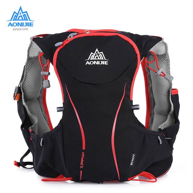 Aonijie 5l Running Backpack Bag Hydration Pack Outdoor Sport Cycling Vest Ultra Light For