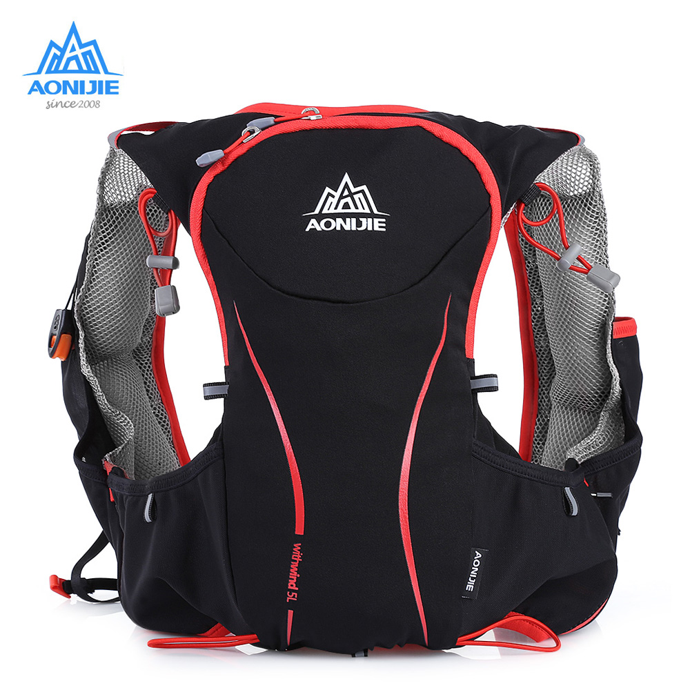 AONIJIE 5L Running Backpack Bag Hydration Pack Outdoor Sport Bag Cycling Vest Ultra light for Climbing Camping Hiking Running