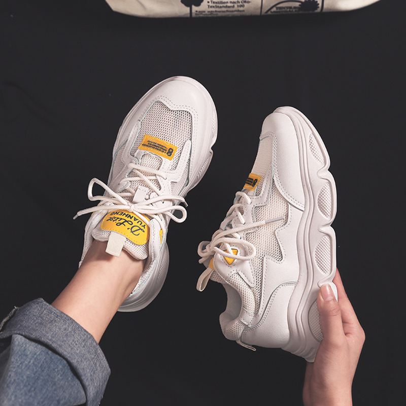Women 39 s Shoes Woman Network Noodles Ventilation Shoes Motion Run Women 39 s Shoes Chalaza Student Women Sneakers Zapatos De Mujer in Women 39 s Vulcanize Shoes from Shoes