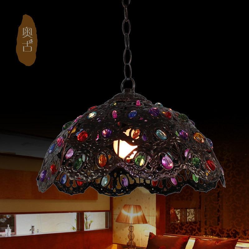American Pastoral bar chandelier chandelier bedroom lamp minimalist art wrought iron chandelier lighting Restaurant D-59