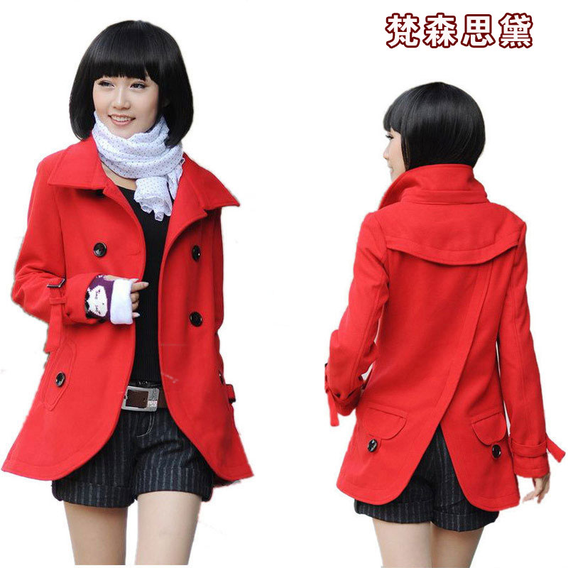 Plus Size S Xxl New 2014 Autumn Winter Brand Fashion Wool Coat ...