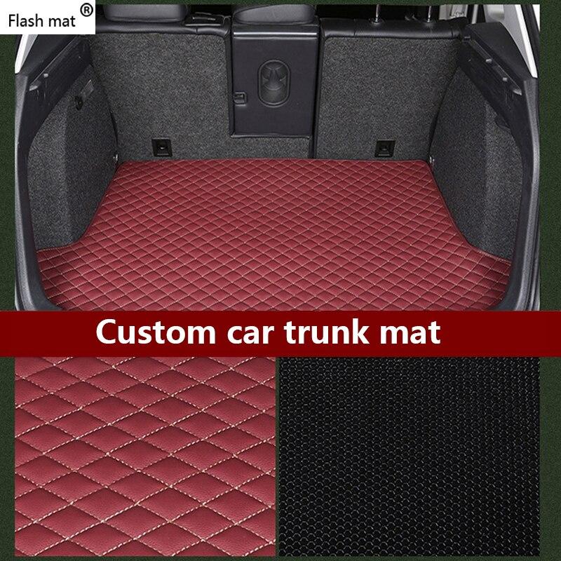 Flash mat cuir voiture coffre tapis pour CHANA tous les modèles CS35 Alsvin Benni CX20 CX30 CS75 CS15 CS95 CS55 voiture style voiture accessoire