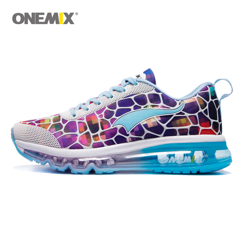 ONEMIX running shoes women's balloon breathable outdoor sports light buffer walking shoes professional sports shoes size 35-40 hot new ultra light breathable children shoes boys and girls sports shoes running shoes outdoor walking shoes fly woven coconut