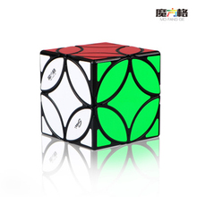 QIYI New 3x3x3 Copper Coin Smart Cube Smooth Irregular Speed Puzzle Cubes Educational Toys for Children new shengshou petaminx cube black 9x9 sengso cubomagico speed puzzle cubes educational toys for children
