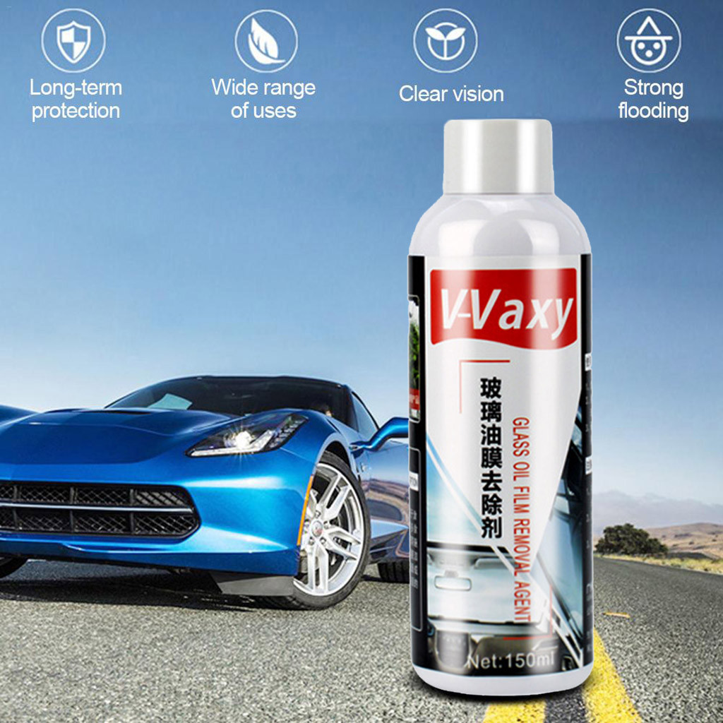 Automotive Glass Coating Agent Rainproof Agent Glass Rain Mark Oil Film Remover With the hardness of super glass coating #P5(China)