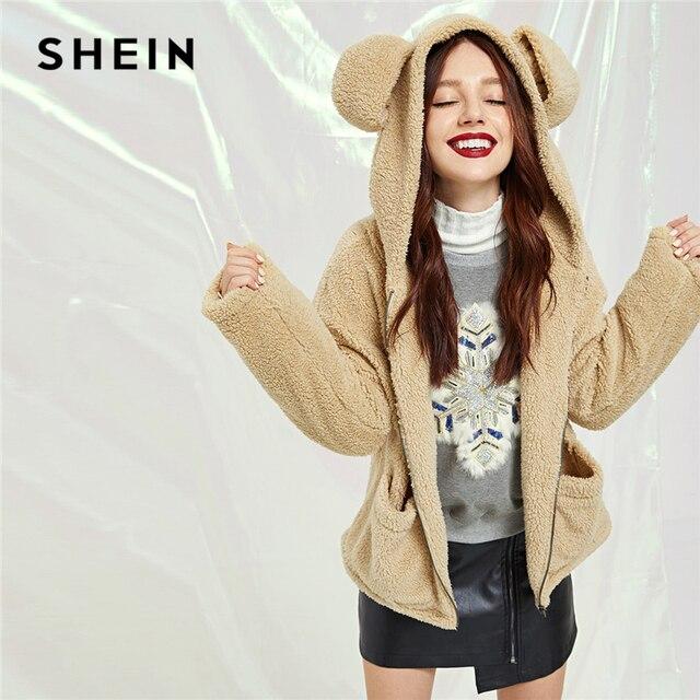 Aliexpress.com: Comprar SHEIN Khaki Preppy con orejas de