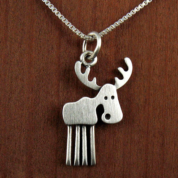12pcs tiny moose necklace for women birthday gift cute deer pendant 12pcs tiny moose necklace for women birthday gift cute deer pendant jewelry td193 aloadofball Images