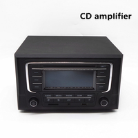 Home Car CD Player 4 Channel Audio Amplifier With Remote Control And Bluetooth Function Good Sound
