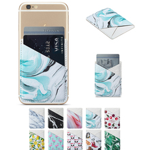 Muxma Card Back Sticker For iPhone X XS Max Wallet Credit Cards Holder Sticker For Samsung Xiaomi Huawei Pocket Adhesive Sticker